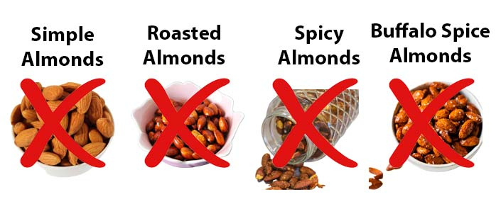 Don't feed Almonds to Dogs